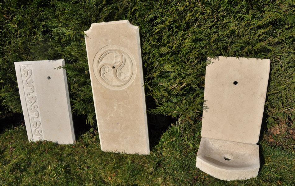 Fontaine en pierre - Bourgogne sculpture