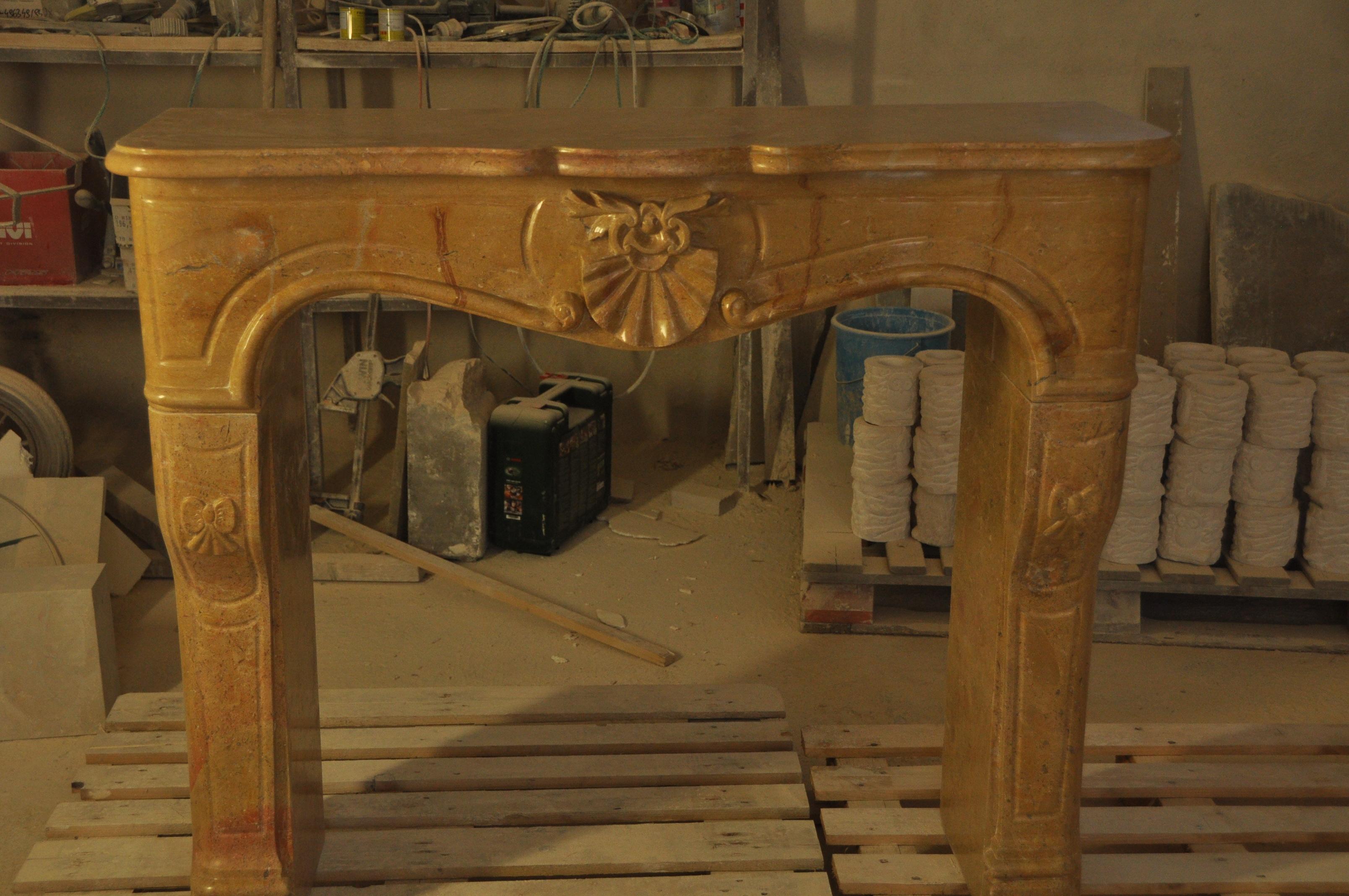 Cheminée Louis XV