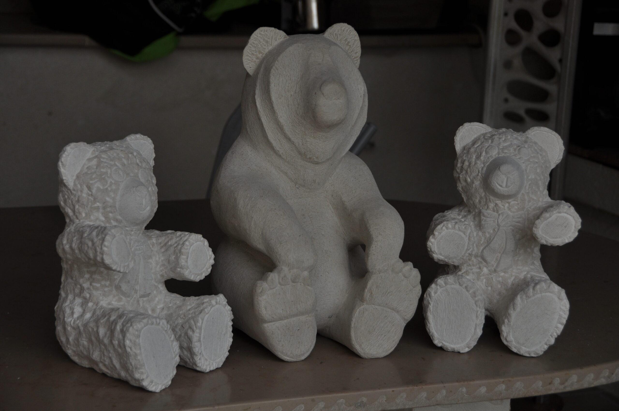 Ours en pierre de bourgogne