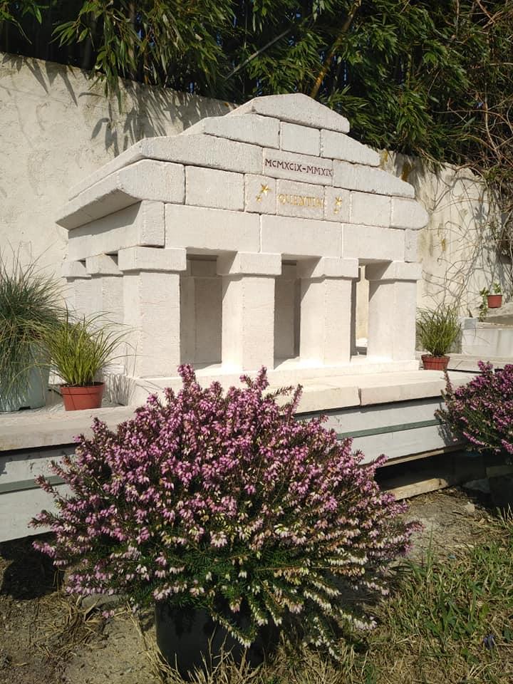 Temple du donon en pierre